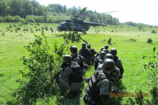 Joint Training of Members of Special Support Unit SIPA and Arme Forces BiH.