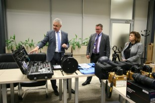 20.980 Euros of Specialised Equipment Donated to SIPA